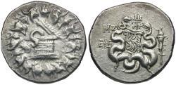 Ancient Coins - Ionia. Ephesos. Cistophoric AR Tetradrachm / Trident