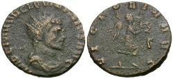 Ancient Coins - Quintillus (AD 270) Æ Antoninianus / Victory