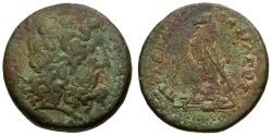 Ancient Coins - Ptolemaic Kings of Egypt. Ptolemy III Euergetes Æ34 Hemidrachm