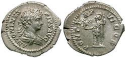 Ancient Coins - Caracalla (AD 198-217) AR Denarius / Roma
