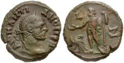 Ancient Coins - Diocletian. Egypt. Alexandria Æ Tetradrachm / Zeus