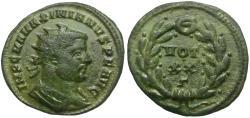 Ancient Coins - Maximianus (AD 286-305) Æ Radiate Fractional / Votive