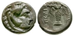 Ancient Coins - VF/VF Mysia, Pergamon AR Diobol / Herakles / Statue of Athena