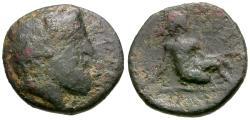 Ancient Coins - Thessaly. Kierion Æ13 / Arne