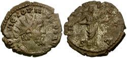 Ancient Coins - Victorinus Æ Antoninianus / Salus