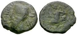 Ancient Coins - Kings of Parthia. Vonones I (AD 8-12) Æ Chalkous / Nike