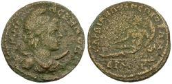 Ancient Coins - Lydia. Sardes. Pseudo-autonomous Æ22 / River-god