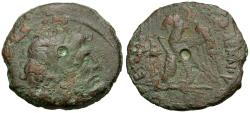 Ancient Coins - Ptolemy VIII Euergetes II (Physcon) (145-116 BC) Æ20