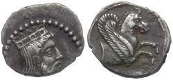 Ancient Coins - Cilicia. Tarsos AR Obol / Pegasus