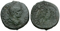 Ancient Coins - Severus Alexander.  Moesia Inferior.  Marcianopolis Æ25 / Eagle
