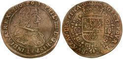 World Coins - Spanish Netherlands. Philip IV (AD 1621-1665) Æ Token