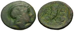 Ancient Coins - gF/gF+ Attica Athens Æ20 / Owl