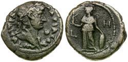Ancient Coins - Hadrian (AD 117-138) Egypt. Alexandria BI Tetradrachm / Athena