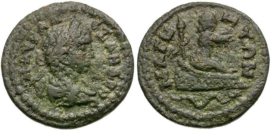 Ancient Coins - Severus Alexander (AD 222-235). Ionia. Magnesia ad Maeandrum Æ18