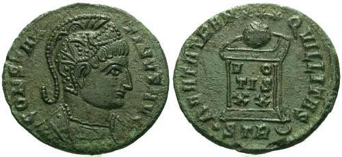 Ancient Coins - VF/VF Constantine the Great / Altar