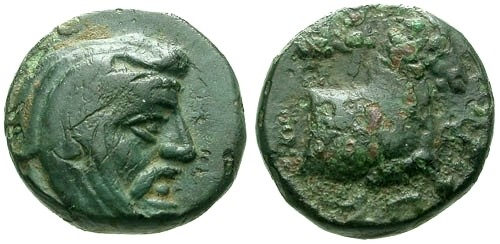 Ancient Coins - gVF/F Satraps of Ionia and Lydia Spithridates AE10 / Horse RRR