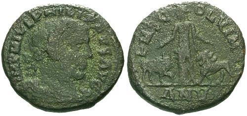 Ancient Coins - F/F Philip I Colonial Bronze / Viminacium
