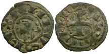 Ancient Coins - Spain. Castile and Toledo. Alfonso I of Aragon Billon Dinero