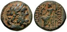 Seleucis and Pieria. Antioch. Autonomous Issue Æ19  / Zeus