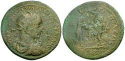 Ancient Coins - Trajan Decius. Cilicia. Tarsos Æ35 / Perseus and Fisherman