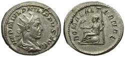 Ancient Coins - Philip I AR Antoninianus / Roma