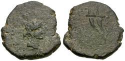 Ancient Coins - Cilicia. Soloi Æ19 / Cornucopia