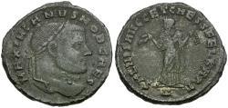 Ancient Coins - Galerius as Caesar (AD 293-305) Æ Follis / Carthage