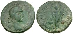 Ancient Coins - Trebonianus Gallus. Troas. Alexandria Æ22 / Apollo Smintheus