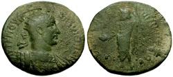 Ancient Coins - Maximinus I, Cilicia, Philadelphia Æ27 / Zeus