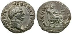 Ancient Coins - Vespasian (AD 69-79) AR Denarius
