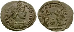 Ancient Coins - Constans Æ4 / Ivy