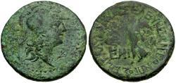 Ancient Coins - Cilicia. Seleukia ad Kalykadnum Æ24 / Nike