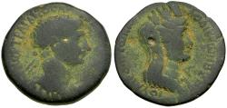 Ancient Coins - Trajan (AD 98-117). Seleucis and Pieria. Laodicea ad Mare Æ25 / Tyche