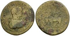 Ancient Coins - Caracalla. Cilicia. Tarsos Æ35 / Elephant and Crown