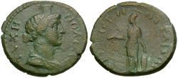 Ancient Coins - Mysia. Attaea. Pseudo-autonomous Æ22 / Athena