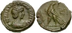 Ancient Coins - Salonina. Egypt. Alexandria Billon Tetradrachm / Eagle