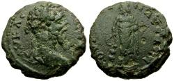 Ancient Coins - Septimius Severus, Thrace Pautalia  Æ17 / Asklepios