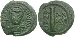 Ancient Coins - *Sear 326* Justinian I (AD 527-565) Æ Decanummium