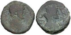 Ancient Coins - Antoninus Pius (AD 138-161). Judaea. Gaza Æ28