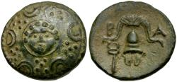 Ancient Coins - Kings of Macedon. Alexander III the Great Æ 1/2 Unit / Gorgon
