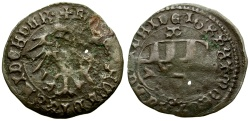 World Coins - Hungary. Ladislaus (Laszlo) V Postumus Billon Denar