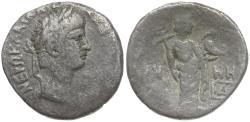 Ancient Coins - Nero (AD 54-68). Egypt. Alexandria Billon Tetradrachm / Eirene