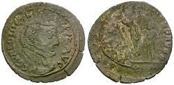 Ancient Coins - Diocletian (AD 284-305) Æ Imitative Antoninianus / Jupiter