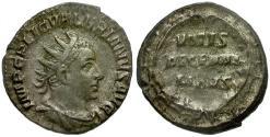 Ancient Coins - Valerian I AR Antoninianus / Votive