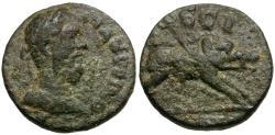 Ancient Coins - Macrinus. Ionia. Ephesus Æ15 / Boar