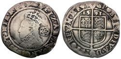 World Coins - Great Britain. Elizabeth I (1558-1603) AR Sixpence