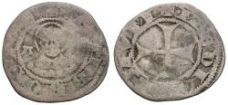 World Coins - Azzone Visconti, lord of Milan (1329-1339) AR 1 1/2 Denaro