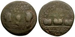 Ancient Coins - Valerian I with Gallienus and Valerian II Casear Dynastic Æ24 Bithynia Nicaea