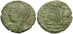 Ancient Coins - Constantine I the Great (AD 306-337) Constantinople Commemorative Æ3 / ☧