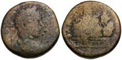 Ancient Coins - Elagabalus. Judaea. Samaria Neapolis Æ22 / Mount Gerizim